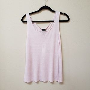 [Eileen Fisher] NWT Light Pink Linen Silk Tank